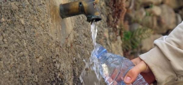 El agua de los manantiales. De donde viene e importancia de los análisis de agua.
