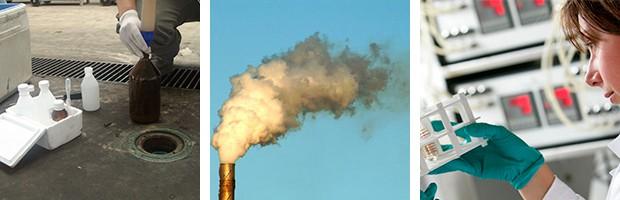 Análisis de aguas residuales en EDAR