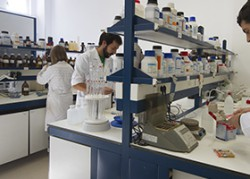 Laboratorio de análisis químico